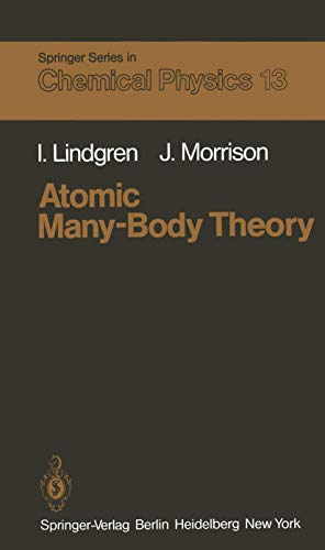 9783540105046: Atomic Many-Body Theory (Springer Series in Chemical Physics)