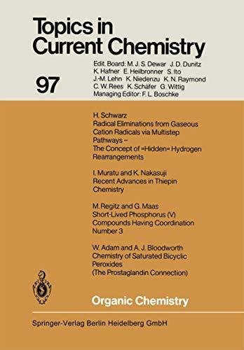 Organic Chemistry (Topics in Current Chemistry): Adam, W., Bloodworth,