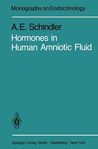 9783540108108: Hormones in Human Amniotic Fluid (Monographs on Endocrinology)