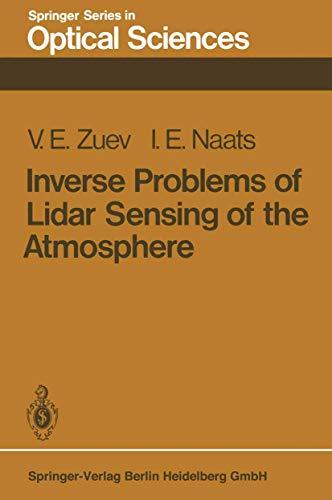 9783540109136: Inverse Problems of Lidar Sensing of the Atmosphere (Springer Series in Optical Sciences)