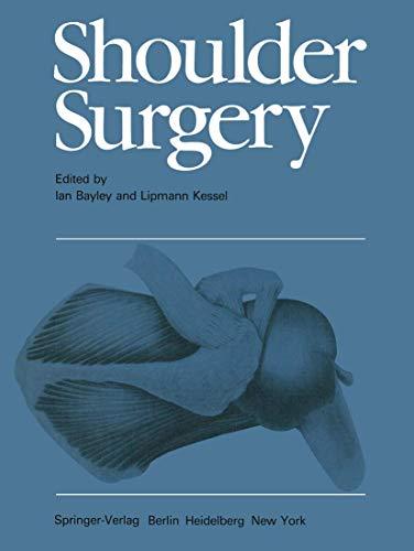 9783540110408: Shoulder Surgery