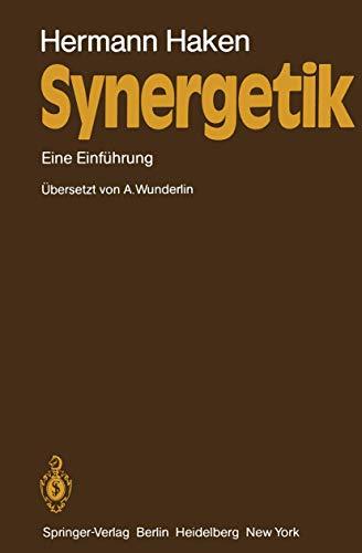 9783540110507: Synergetik: Eine Einf Hrung