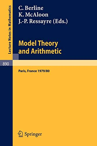 Model Theory and Arithmetic: Comptes rendus d'une