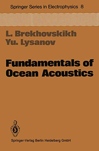 9783540113058: Fundamentals of Ocean Acoustics (Springer Series in Electronics and Photonics)