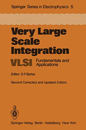 9783540113683: Very Large Scale Integration (VLSI): Fundamentals and Applications (Springer Series in Electronics and Photonics)