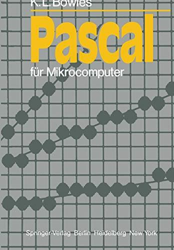 9783540113911: Pascal für Mikrocomputer (Informationstechnik und Datenverarbeitung) (German Edition)