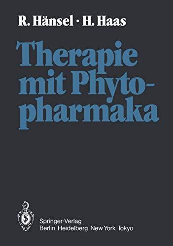 9783540114512: Therapie mit Phytopharmaka: Korrigierter Nachdruck