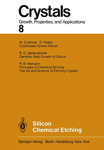 9783540118626: Silicon Chemical Etching (Crystals)
