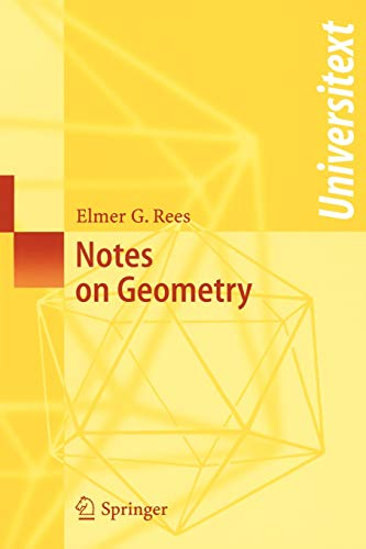 9783540120537: Notes on Geometry