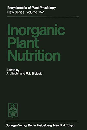 9783540121039: Inorganic Plant Nutrition (Encyclopedia of Plant Physiology)