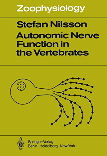 9783540121244: Autonomic Nerve Function in the Vertebrates (Zoophysiology)