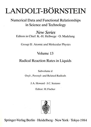 Landolt-Bornstein: Numerical Data and Functional Relationships in: J. a. Howard,J.