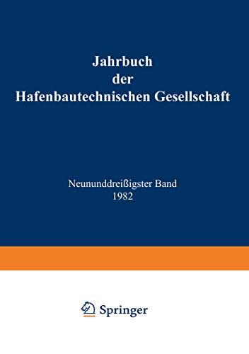 9783540123408: Jahrbuch der Hafenbautechnischen Gesellschaft