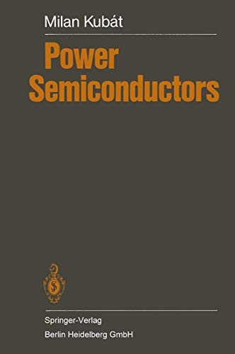 9783540125693: Power Semiconductors