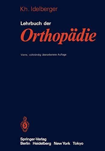 9783540126003: Lehrbuch der Orthopädie
