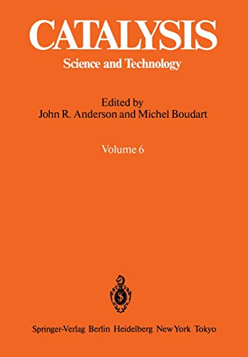 9783540128151: Catalysis: Science and Technology (Vol 6)