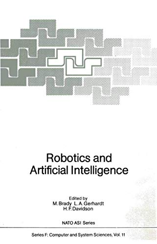 9783540128885: Robotics and Artificial Intelligence (Nato ASI Subseries F:)