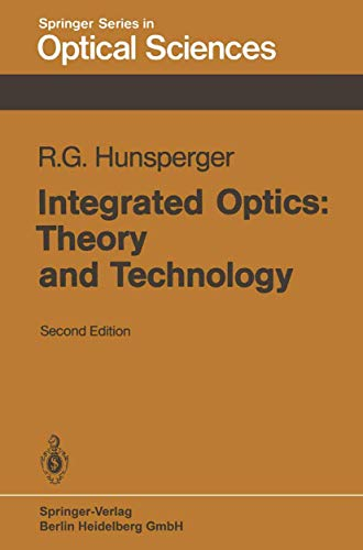 9783540130789: Integrated Optics: Theory and Technology