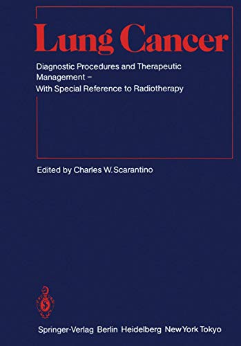9783540131762: Lung Cancer (Medical Radiology / Radiation Oncology)