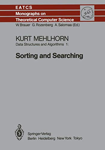 Data Structures and Algorithms I: Sorting and: K. Mehlhorn