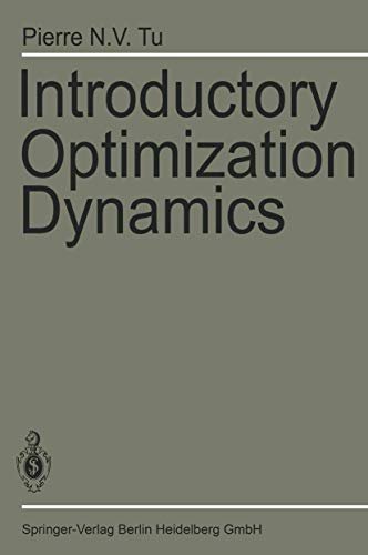 9783540133056: Introductory Optimization Dynamics: Optimal Control with Economics and Management Science Applications