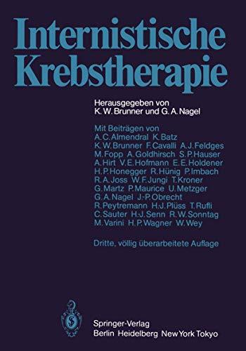 9783540134053: Internistische Krebstherapie (German Edition)