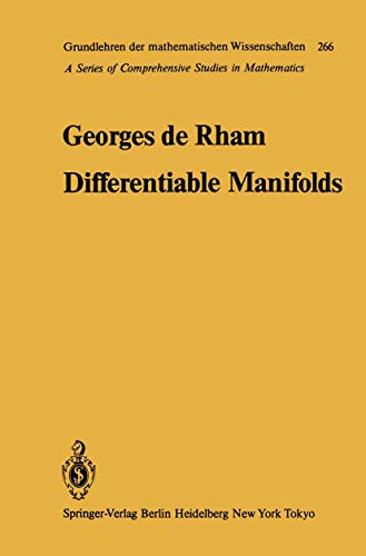 9783540134633: Differentiable Manifolds: Forms, Currents, Harmonic Forms