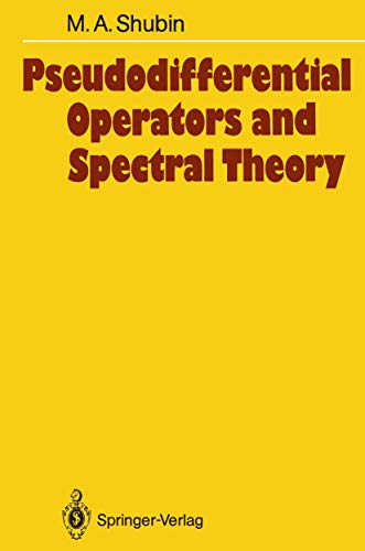 9783540136217: Pseudodifferential Operators and Spectral Theory