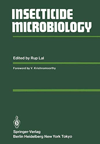 Insecticide Microbiology: Editor-R. Lal; Foreword-V.