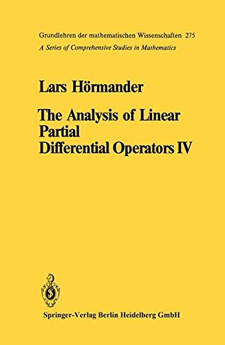 The Analysis of Linear Partial Differential Operators: Lars HÃ rmander