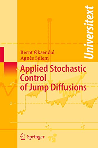 9783540140238: Applied Stochastic Control of Jump Diffusions (Universitext)