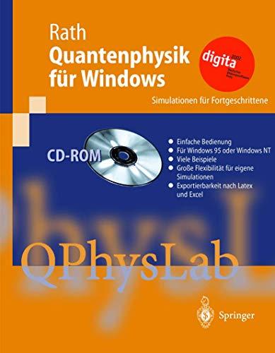 9783540147299: Quantenphysik für Windows: Simulationen für Fortgeschrittene (German Edition)