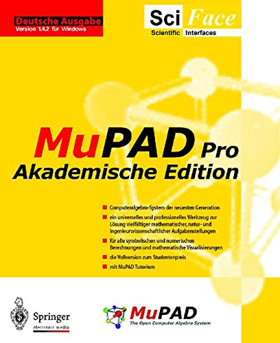 9783540147909: MuPAD Pro: Akademische Edition (German Edition)