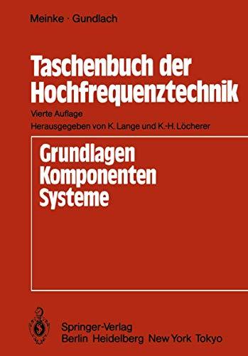 9783540153931: Taschenbuch der Hochfrequenztechnik.