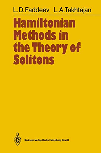 9783540155799: Hamiltonian Methods in the Theory of Solitons