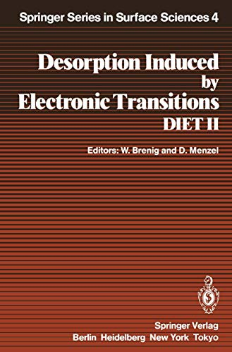 Desorption Induced by Electronic Transitions. DIET II: