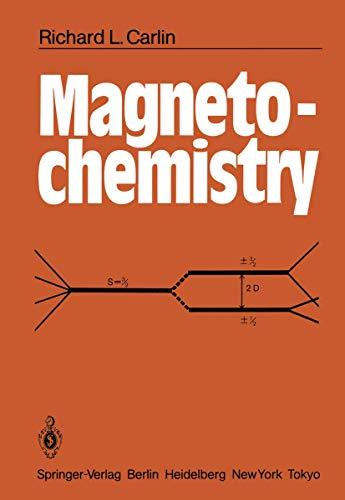 9783540158165: Magnetochemistry