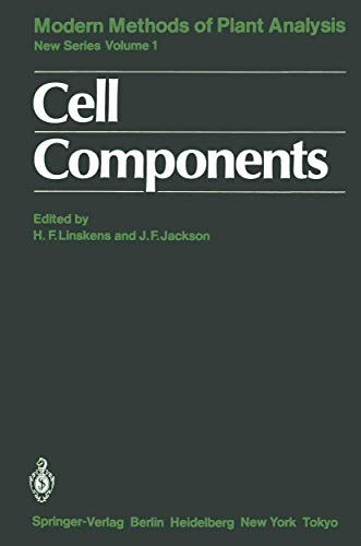 9783540158226: Cell Components (Molecular Methods of Plant Analysis)