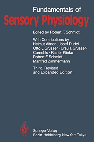 9783540158707: Fundamentals of Sensory Physiology (Springer Study Edition)