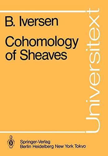 9783540163893: Cohomology of Sheaves (Universitext)