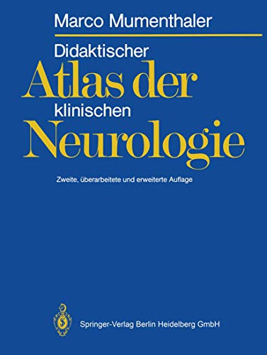 9783540165583: Didaktischer Atlas der klinischen Neurologie