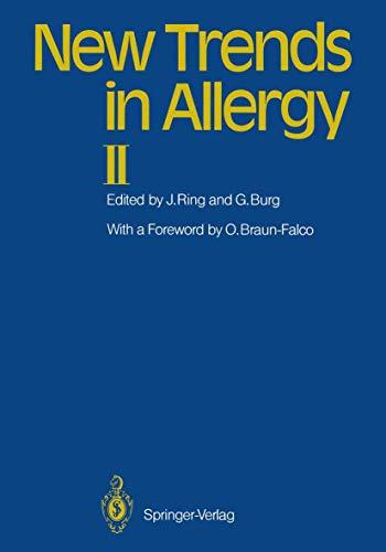 9783540166849: New Trends in Allergy II