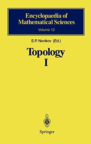 Topology I: General Survey: S. P. Novikov