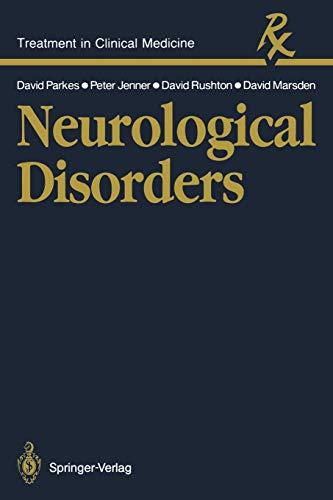 9783540170136: Neurological Disorders (Treatment in Clinical Medicine)
