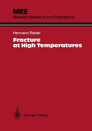 9783540172710: Fracture at High Temperatures (Materials Research and Engineering)