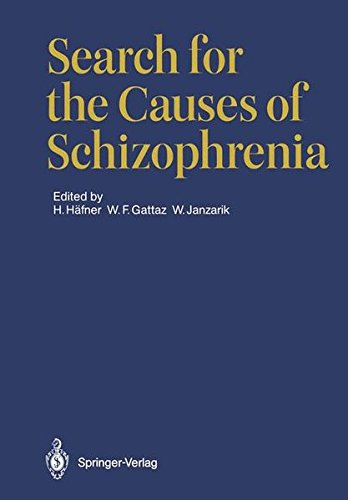 9783540173762: Search for the Causes of Schizophrenia.