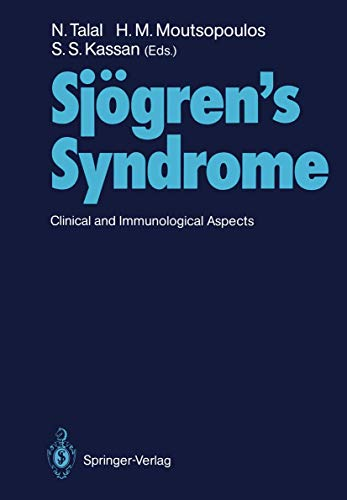 9783540174776: Sjögren's Syndrome: Clinical and Immunological Aspects