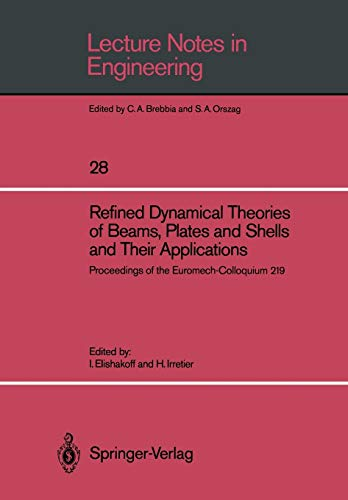 Refined Dynamical Theories of Beams, Plates and: n/a
