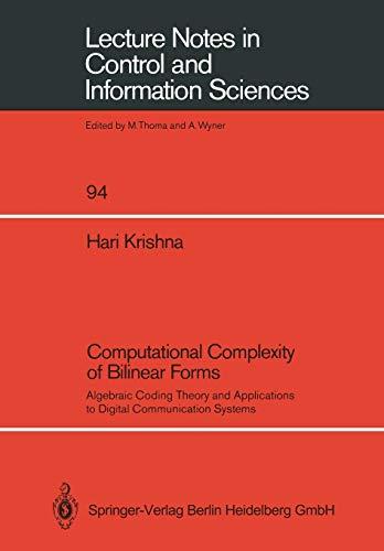 Computational Complexity of Bilinear Forms: Algebraic Coding