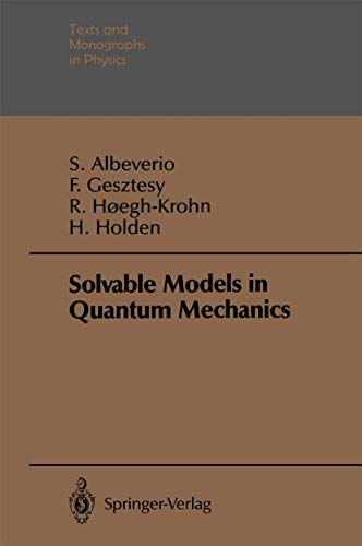 9783540178415: Solvable Models in Quantum Mechanics (Theoretical and Mathematical Physics)